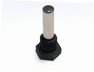 453-11KMag  magnetic crankcase drain plug, parkerized