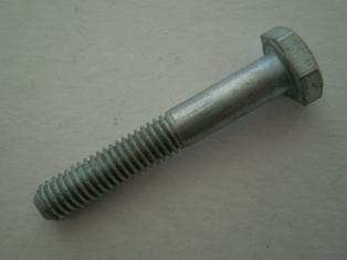 13332-25A  oil pump mounting bolt, NOS, cadmium, 'Rockford'