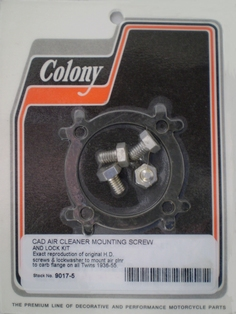 1408-36  air cleaner mounting screw and lock kit