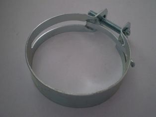 1413-41M  air cleaner hose clamp, zinc plated