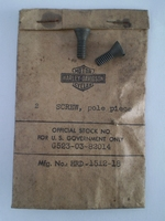 1512-18  pole piece screw, NOS
