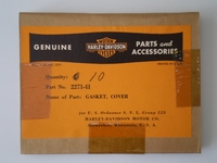 2271-41  top cover gasket, NOS