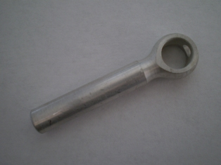 2422-36  end clutch lever rod or cable end, cadmium