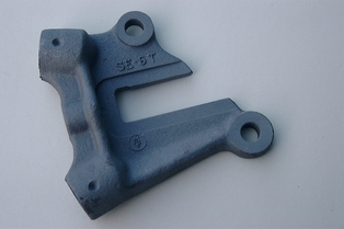 2802-02L drop forged & machined left frame end casting
