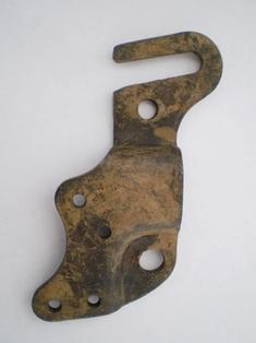 3746-36A  rear fender right brace clip, NOS