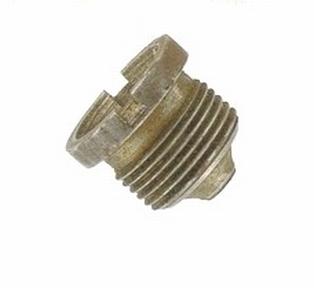 3805-39  crankcase chain guard screw plug, NOS