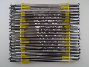 3943-36AS  set spokes & nipples 18