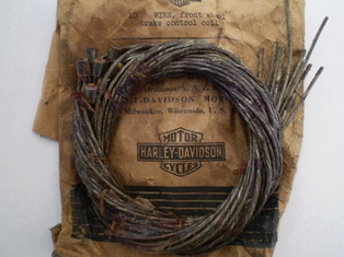 4145-28N  control wire (inner cable), NOS