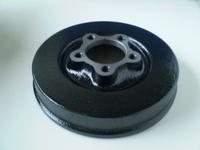 4098-36N  front brake drum, black