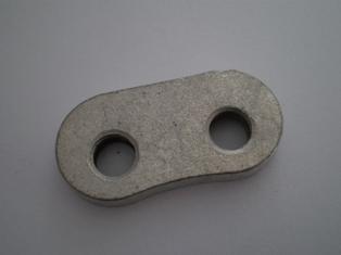 4417-29  rear bolt screw plate, cadmium