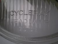 4906-35C  headlight lens Cycleray