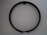 4914-35B  headlight door or bezel, black