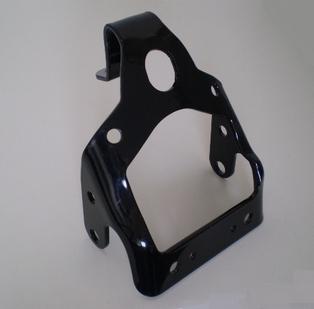 4966-45  headlight bracket, black
