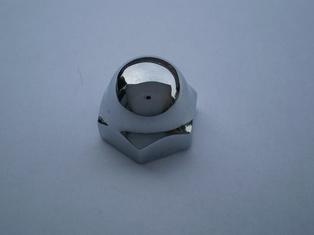 2634-36NC  spring rod top nut, chrome