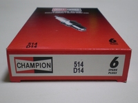 37-09C-6  spark plug (6-pack)