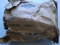 2243-41  shifting cam, NOS