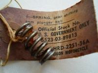 2251-36A  plunger ball spring, NOS