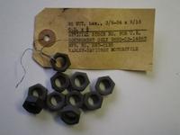 0129P  nut, parkerized (10pck)