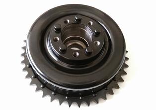 4032-41N  brake shell and sprocket