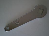 4123-31C  brake operating lever, chrome