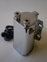 1722-29BC  spark coil 6 V with cables, chrome