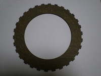 2534-29  fiber clutch disc, notched edge, NOS