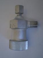 3623-41M  petrol filter housing and cap, cadmium