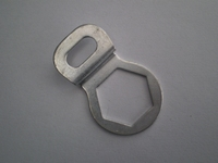 2432-44C  clutch release lever screw lock washer, cadmium