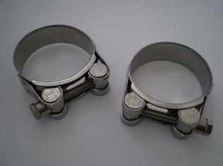 1109-41MIK  Mikuni connector hose clamps (2)