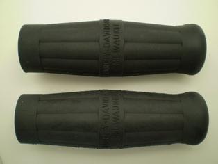3310-09 handlebar grips, black