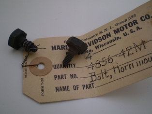 4856-42M  horn mounting bolt, NOS