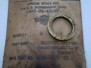 2305-33N  inner thrust washer, NOS