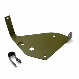 1430-40M  mounting plate early round aircleaner