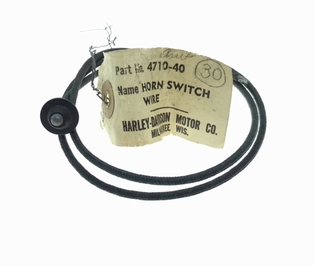 4710-40  horn switch wire & insulation, NOS