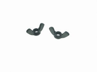 4409-24   wing nuts battery cover (pair), parkerized