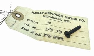 4918-41M  marker light door screw, NOS