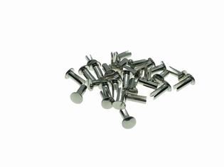 2941-14N   footboard mat rivets (28), nickel plated