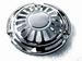 4809--31NC  horn face 'sunburst', chrome